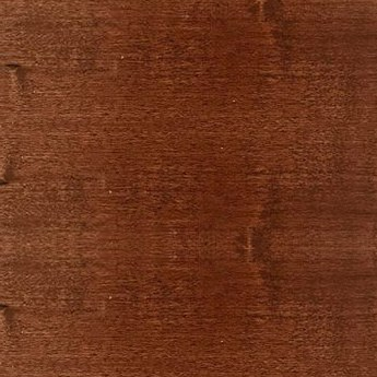 chestnut color wooden horizontal blind