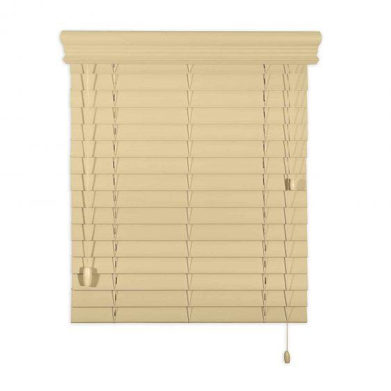 faux wood horizontal blind